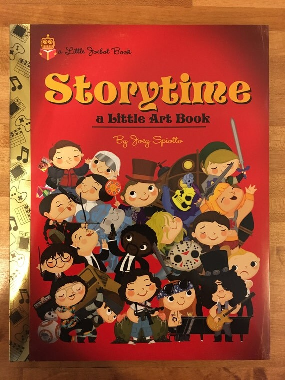 Storytime - A Little Art Book by Joey Spiotto