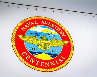 Centennial of Naval Aviation Seal 1911 - 2011 Fine Art Print
