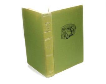 "Green Vintage Fishing Hollow Book Box Handmade ""Fishing With Ray Bergman"" Booksafe Fish Sports Outdoors Secret Storage - READY TO SHIP"