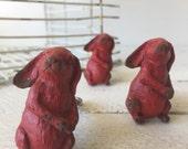 Farmhouse Decor, Rabbit Pull, Rabbit Handle, Barn Style, Barnhouse Decor, Nursery