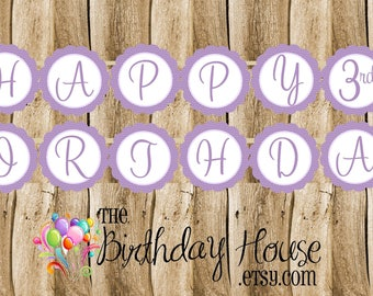 Rapunzel & Friends Banner - Custom Princess Party Banner by The Birthday House