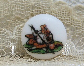 Beatrix Potter Mr. Jeremy Fisher Clothing Button