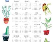 RESERVED - 2017 Succulent Calendar