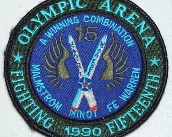 Olympic Arena Fighting Fifteenth 1990 Patch