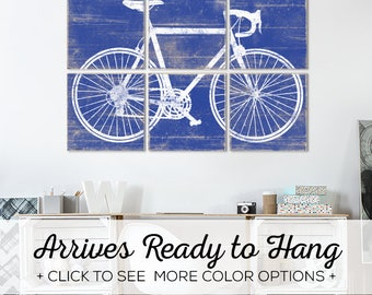 Browse our Vintage Bicycle Wall Art in over 25 color options - Great for Boys Bedroom Wall Decor