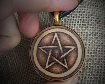 Pentacle Pendant - Made to Order