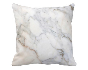 Marble Pillow Cover in Slate