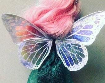 Crystal Monarch doll wings fairy faery