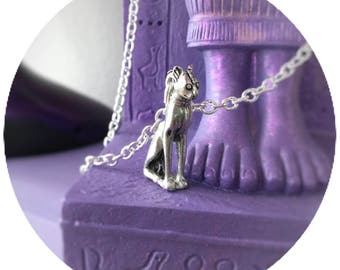 Egyptian Cat Bastet Sphinx Goddess necklace