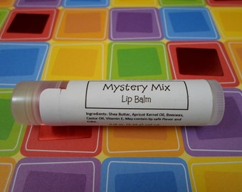 Mystery Mix Assorted Flavors Lip Balm | Stocking Stuffer | Gift for Her | Teacher Gift | Lip Care | Surprise Flavor Lip Balm