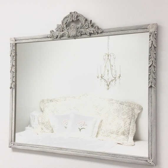 Ornate antique mirror for sale solid wood mirror for White framed mirrors for sale