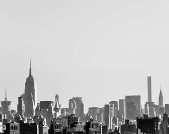 New York Photo, New York Skyline, Fine Art Photography, Cityscape, Wall Art, Architecture, Travel Photo, Large Wall Decor, Art Print, NYC