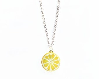 Lemon Necklace Small