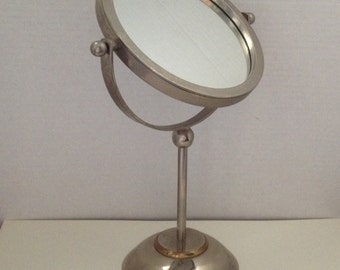 Vanity Mirror 2 Sided Flip Pedestal Vintage Make Up Mirror India