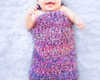 Custom Handmade Baby Cocoon, Baby Nest, Baby Pod, Photography Prop, Crochet