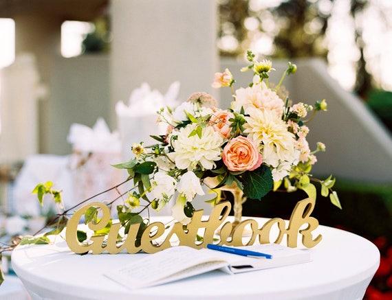 Wedding Guestbook Sign Freestanding Guestbook