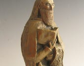 St. Jerome, Patron of Librarians, Book Lovers, Scholars: Handmade Statue