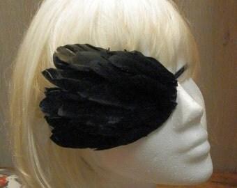 Gothic Feather Eyepatch - Fantasy