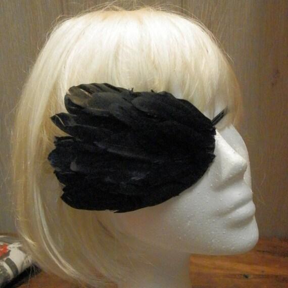 Gothic Feather Eyepatch