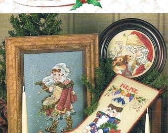 Christmas Keepsake Cross Stitch Designs by Stoney Creek Book 305