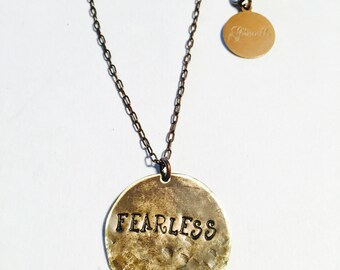 Fearless Affirmation Necklace