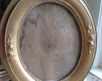 Antique Oval Picture Portrait Frame