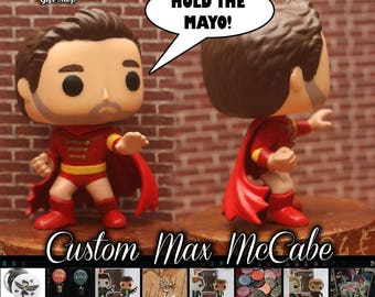 "Max McCabe ""The Sidekick"" - Custom Funko pop toy"