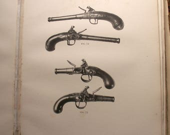 Vintage Limited Edition Book - European Hand Firearms, Jackson and Whitelaw, published in 1923