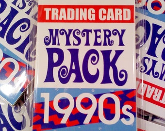 Trading Card Mystery Pack, 1990s