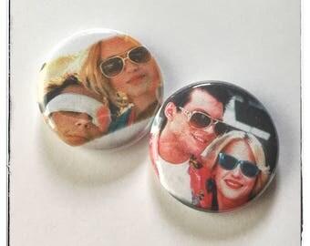 "True Romance - 1"" Button Choose Your Own"