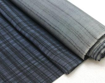 Vintage Japanese Silk. Artisan Made Hand Dyed Fabric. Kimono Araihari Silk (Ref: 1547A)