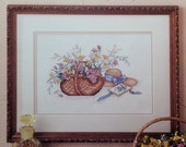 50%OFF Paula Vaughan Vaughn A BOUQUET For Elizabeth By Leisure Arts - Counted Cross Stitch Pattern Chart