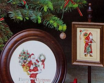 Cross Stitch Pattern | CHRISTMAS SANTA CLAUS | Donna Vermillion Giampa | Stitch With Sudberry