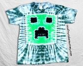 Tie Dye T Shirt pixel Adult sizes