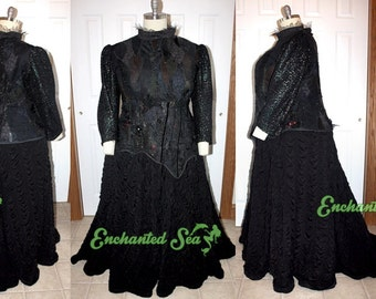 PLUS SiZE> fits 3X-5X > Elphaba Wicked Witch Act II Dress! *read full listing for ALL details* - [Ready to Ship!] - Payment Plans Available!