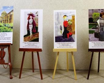 4 mini posters by Marie Haeffner-Reeves