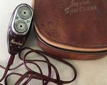 Vintage Norelco Sportsman Travel Shaver - SALE