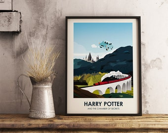 Harry Potter Poster print - Home decor wall art.