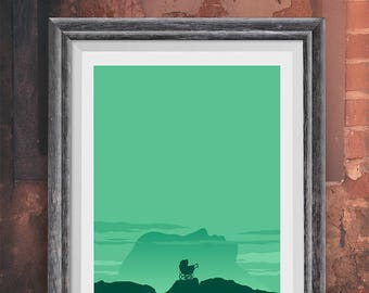 Rosemary's Baby Movie Poster,  Art Print, Horror Poster. Wall Art, Minimalist Poster, Art Prints