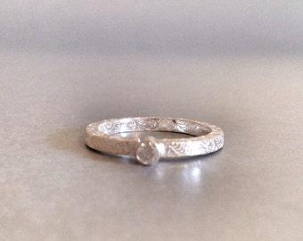 Stacking Ring-Handmade Silver Ring