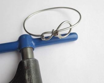 Bicycle Jewelry,  Bicycle Accessories, Bicycle Spoke Bracelet, Metal Bracelet, Sports, Bikes, Bangle Bracelets