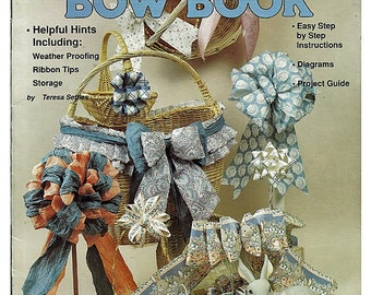The Ultimate Bow Book 20 Bows For beginners and Pros Craft Pattern Book Plaid 85037