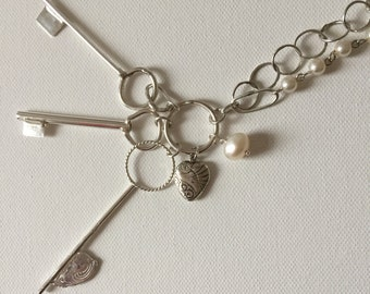 Keys To My Heart Necklace