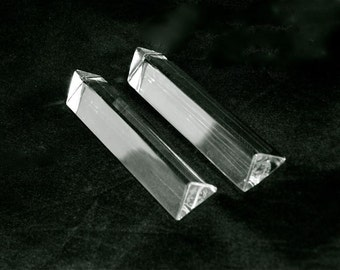 Baccarat Knife Rests Pair Made in France 1920s