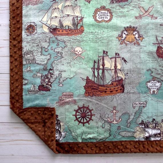 Baby Nash S Vintage Nautical Nursery: Nautical Baby Blanket Nautical Nursery Decor Baby Blanket