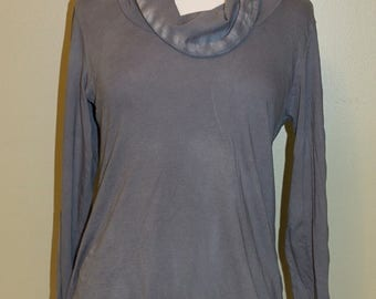 Sale, Cowl Neckline Shirt, Size Medium