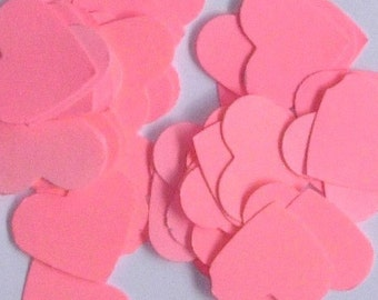 Confetti | Table Scatter | Pink Hearts | Valentines Day | Romantic | Wedding | 100 pieces | One inch