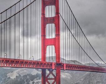 Golden Gate Bridge #6 Photo Print