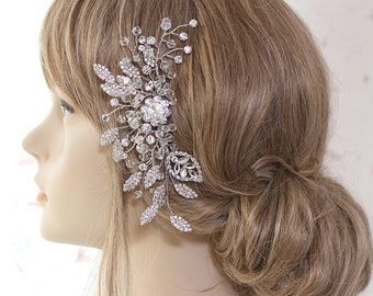 Bridal hair comb, wedding headpiece, bridal hair accessory, bridal headpiece, hair adornment