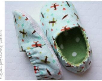 Kid Slipper Pattern - Slipper - Sizes 6 to 13